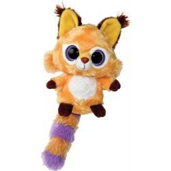 Plyšový lemur oranžový 25cm