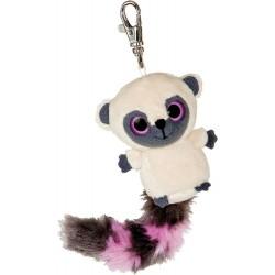 Lemur plyšový přívěsek na klíče růžový