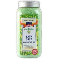 Herbal therapy sůl do koupele 900 g - konopí