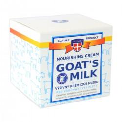 Palacio výživný krém kozí mléko pro všechny typy pleti 50 ml