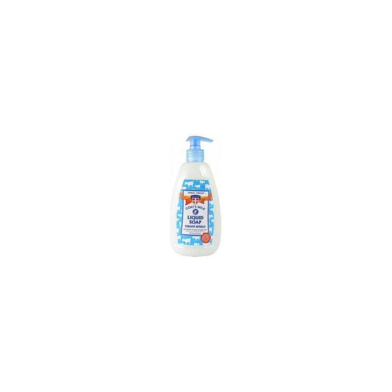 PALACIO Kozí mléko tekuté mýdlo s pumpičkou, 500ml