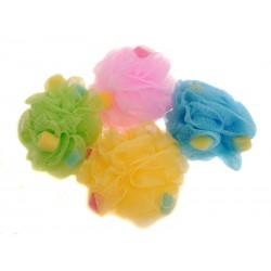 BEAUTY koupelová houba plastová - květina