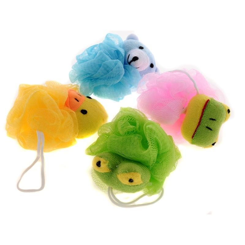 BEAUTY houba na mytí pro děti Zvířátka