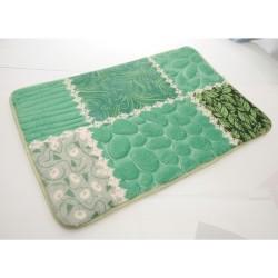 Unihouse Koupelnová předložka 40 x 60 cm zelená