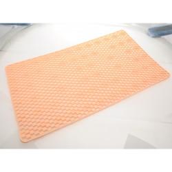 Unihouse Protiskluzová podložka do koupelny 40 x 70 cm oranžová