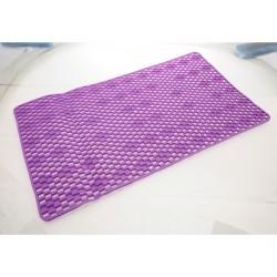 Unihouse Protiskluzová podložka do koupelny 40 x 70 cm fialová