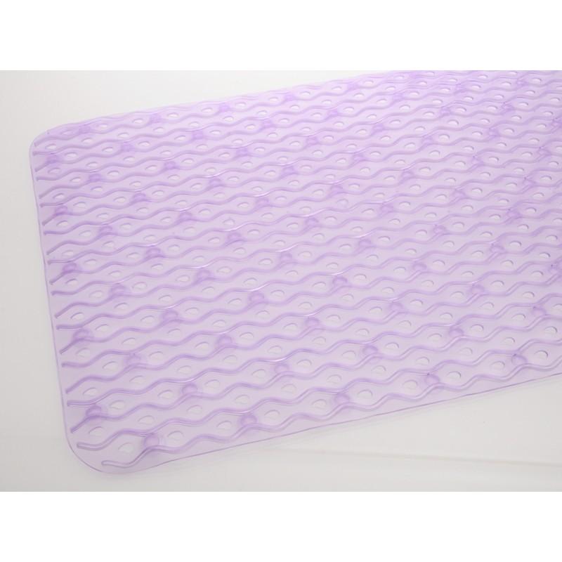 Unihouse Protiskluzová předložka do koupelny 40 x 70 cm fialová