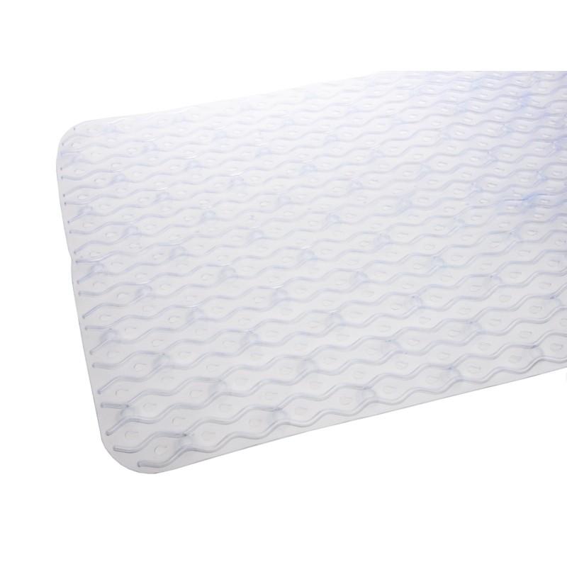 Unihouse Protiskluzová předložka do koupelny 40 x 70 cm bílá