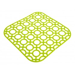 Unihouse Podložka do dřezu 27 x 27 cm zelená