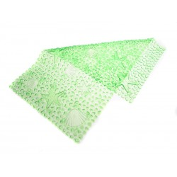 Protiskluzová podložka Unihouse 37 x 67 cm moře - zelená