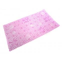 Protiskluzová podložka Unihouse 37 x 67 cm moře - růžová