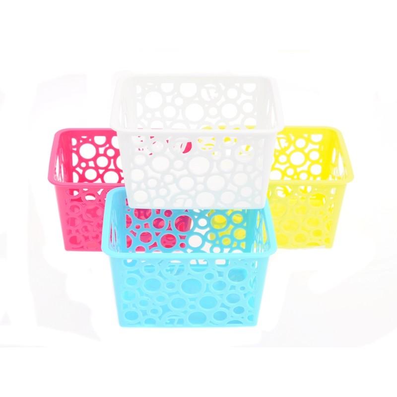 Unihouse Dekorační košík plastový 8 x 12 x 14 cm - modrý 136ef310f8