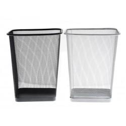Odpadkový koš Unihouse 27 x 22 x 22 cm kovový