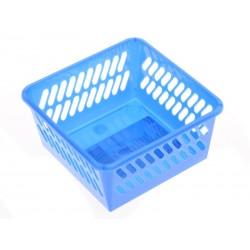 Unihouse Plastový košík 5 x 10 x 10 cm modrý