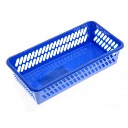 Unihouse Košík plastový 5 x 10 x 20 cm modrý