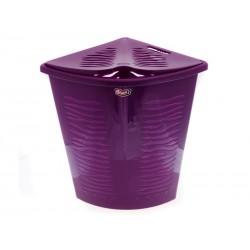 Elmich Koš na prádlo plastový 53 x 36 x 50 cm tm. fialový
