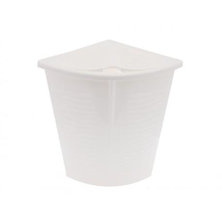 Elmich Koš na prádlo plastový 53 x 36 x 50 cm bílý