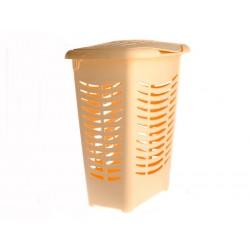 Unihouse Koš na prádlo 58 x 48 x 30 cm oranžový