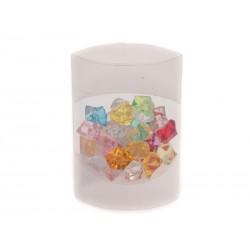 Unihouse Dekorativní kamínky plastové diamanty 80 g