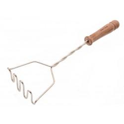 Smart Cook Mačkadlo na brambory s dřevěným úchytem