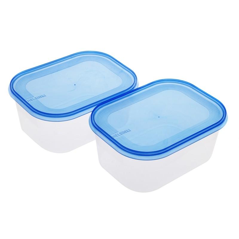 Smart Cook Plastová dóza modrá 2 ks