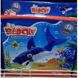 3D Puzzle žralok 58 dílků