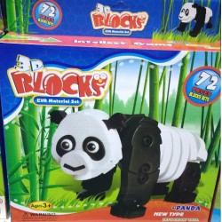 3D Puzzle panda 72 dílků