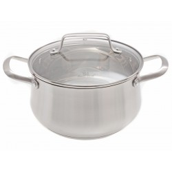 Nerezový hrnec s poklicí Smart Cook 4,7 l