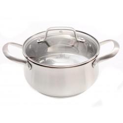 Nerezový hrnec s poklicí Smart Cook 2,4 l