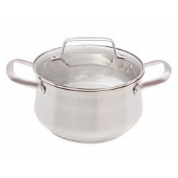 Nerezový hrnec s poklicí Smart Cook 3,5 l