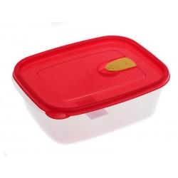 Smart Cook Krabička na svačinu plastová červená 1,25 l