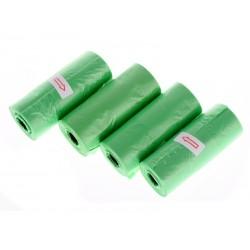 DOGGIES Sáčky na trus 4 x 15 ks zelené