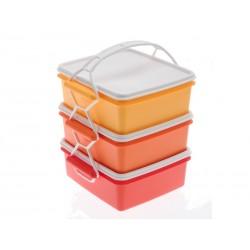 Smart Cook 3 patrový jídlonosič hranatý
