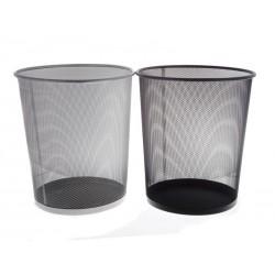 Unihouse Koš na odpadky kulatý kovový 30 x 35 cm