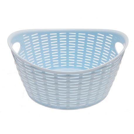 Unihouse Košík plastový modrý s úchyty 9 l