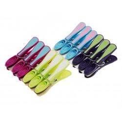 Unihouse Kolíčky na prádlo 8 cm, 12 ks mix barev