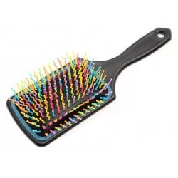 Unihouse Kartáč na vlasy hranatý 8 x 23,5 cm barevný