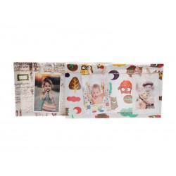 Fotorámeček s kolíčky dětský obdelník 4, 20 x 35 cm