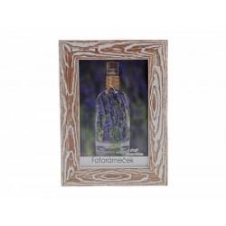 Unihouse Fotorámeček 10 x 15 cm dřevo