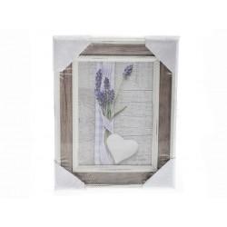 Unihouse Fotorámeček přírodní 13 x 18 cm