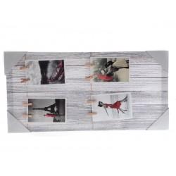 Unihouse Fotorámeček s 8-mi kolíčky 30 x 60 cm