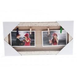 Unihouse Fotorámeček s kolíčky, 4 ks 20 x 40 cm