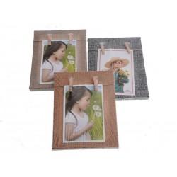 Unihouse Fotorámeček s dvěma kolíčky 15 x 20 cm