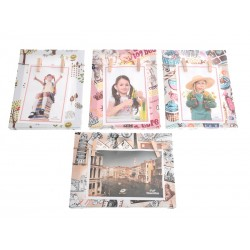 Unihouse Fotorámeček barevný obrázkový s 2-ma kolíčky 15 x 20 cm