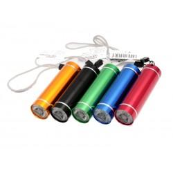 Unihouse Baterka 1 LED 2,5 x 8,5 cm mix barev
