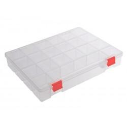 Unihouse Organizér na nářadí plastový průhledný 5 x 25 x 32 cm