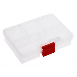 Unihouse Organizér na nářadí plastový průhledný 3 x 13,5 x 10 cm