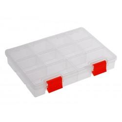 Unihouse Organizér na nářadí plastový průhledný 3 x 14 x 19,5 cm