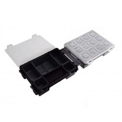 Unihouse Box na nářadí plast 9,5 x 14,5 x 19,5 cm - černý