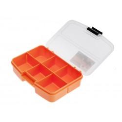 Unihouse Organizér na nářadí průhledný 3 x 10 x 13 cm - oranžový